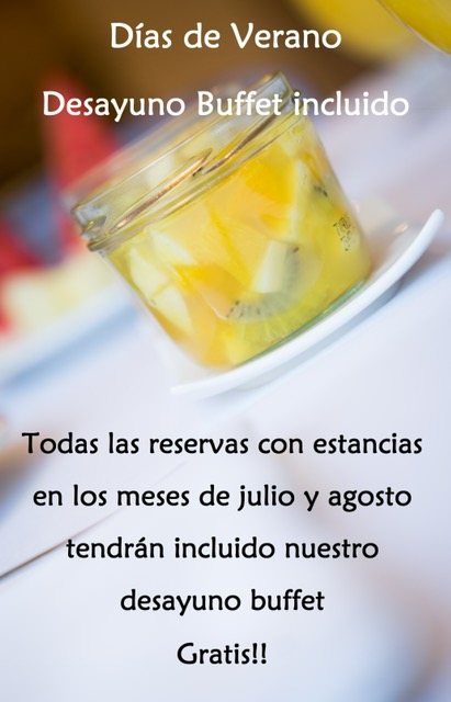 Summer offer – Desayunos incluidos!