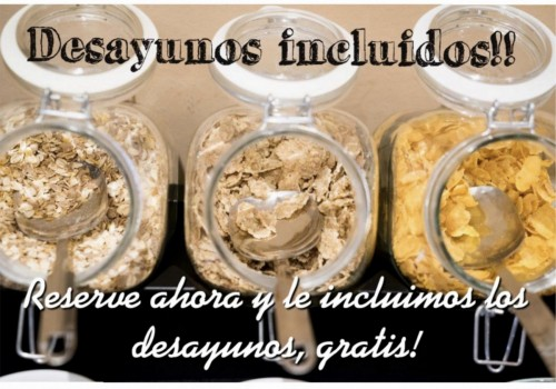 DESAYUNOS INCLUIDOS